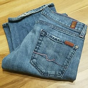 Perfect, 7 FOR ALL MANKIND, bootcut jeans!!
